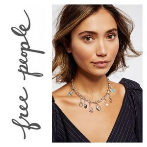 NWT Free People Mix N Match Charm Necklace